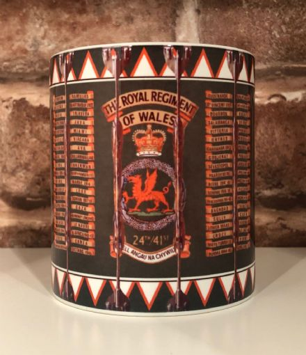 The Royal Regiment of Wales Drum Mug